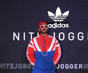 Ranveer Singh at the launch of Nite Joggers