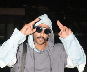 Ranveer Singh spotted Sanjay Leela Bhansali's house