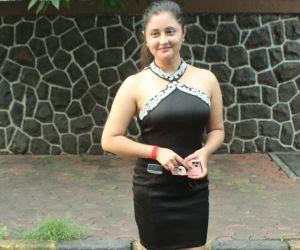 Rashmi Desai spotted at andheri