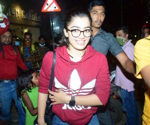 Rashmika Mandana spotted at juhu