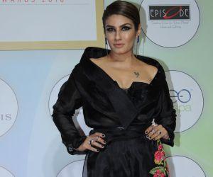 Raveena Tandon at award