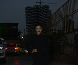 Raveena tandon spotted at Bandra