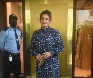 Raveena Tandon Spotted Manish Malhotra Store In Bandra