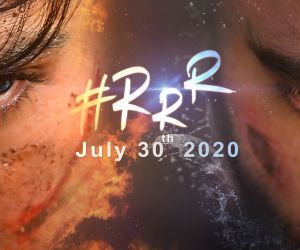 RRR release date poster