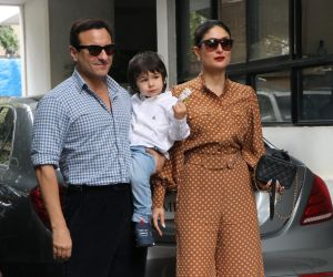 Saif Ali Khan and Kareena Kapoor inChristmas Family lunch of kapoor family at shashi Kapoor house
