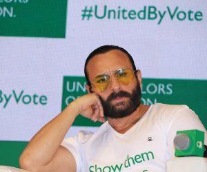 Saif Ali Khan at #UnitedByVote Campaign Launch