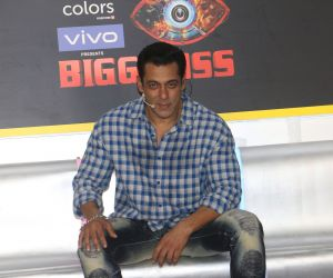 Salman Khan - Big Boss launch at andheri