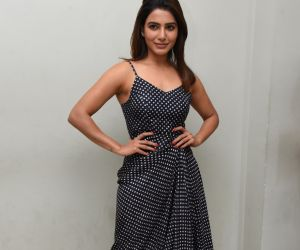 Samantha Akkineninew cute pic from Zombie Reddy Teaser Launch Function