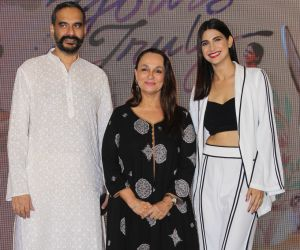 Sanjoy Nag, Soni Razdan and Aahana Kumra at press conference