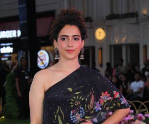 Sanya Malhotra at fashion show unveiling the Spring Summer collection