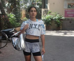 Sara Ali Khan Spotted Bandra