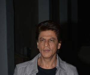 Shahrukh Khan At Mehboob Studio In Bandra
