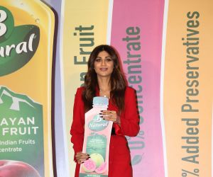Shilpa Shetty at the launch of B Natural juice