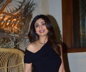Shilpa Shetty Spotted At Bastian Worli