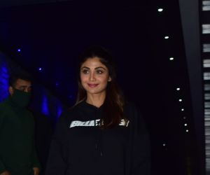 Shilpa Shetty spotted at Hakkasan Bandra