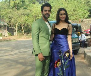 Shraddha Kapoor And Rajkummar Rao At Indian Pro Music League At Filmcity
