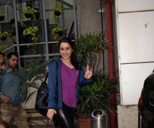 Shraddha Kapoor spotted at dance class