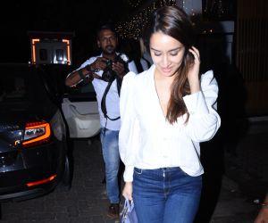 Shraddha Kapoor spotted at izumi bandra