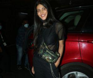 Shruti Hassan snapped at airport