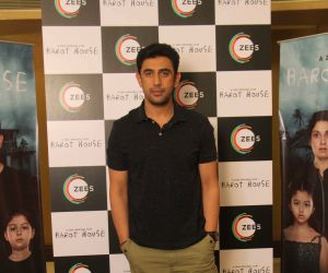 Amit Sadh snapped promoting their web series Barot