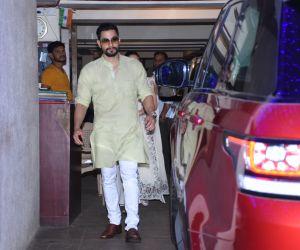 Kunal Khemu spotted at Saif Ali Khan's house in bandra for Diwali celebration