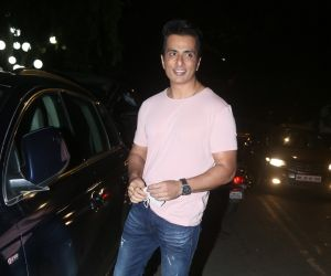 Sonu Sood leave from Chrome Studio, Bandra