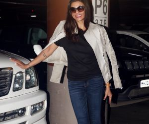 spotted at airport as they leave for the shoot of Simmba
