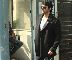 Varun Dhawan Spotted At Airport In Kalina