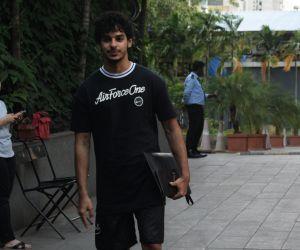 Ishaan Khattar spotted at andheri