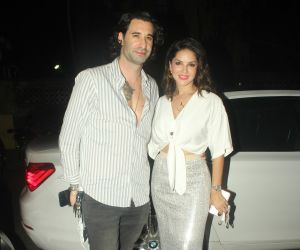 Sunny Leone and Daniel Webber spotted at juhu