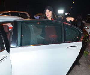 Sunny Leone spotted at Myrah spa in juhu