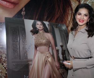 Sunny Leone unveils her fashion brand at India Licensing expo in goregaon