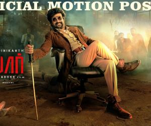 Superstar Rajinikanth's Darbar Motion Poster