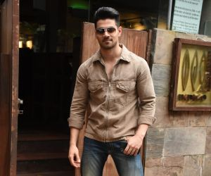 Suraj Pancholi spotted at Indigo in bandra