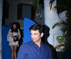 Actor Sushant Singh Rajput spotted at bandra