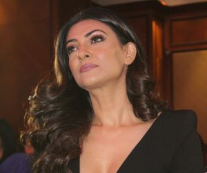 Sushmita seen event, I am women