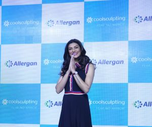 Sushmita Sen at the launch of Cool sculpting