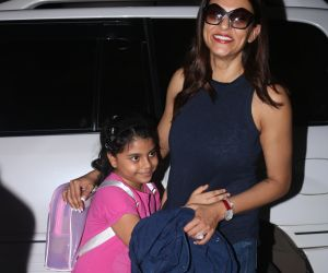 Sushmita Sen Spotted At Airport