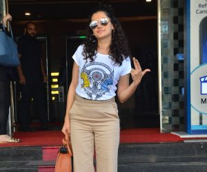 Taapsee Pannu spotted at pvr ecx in andheri