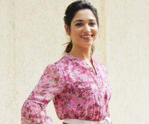 Tamannah Bhatia Spotted For Her Digital Series Shoot Vanity Diaries