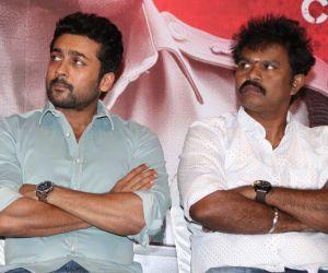 Tamil movie Aruva press-releasing photo