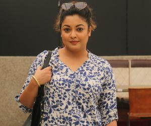 Tanushree Dutta inteacts with media for the M2 campaign