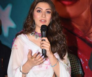 Actress Hansika Motwani in Tenali Ramakrishna BA.BL Movie Releasing Event
