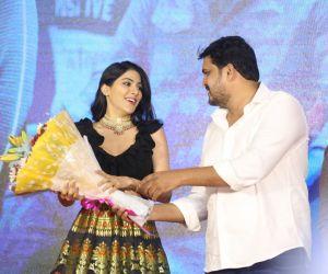 Actress Nikki Tamboli Thippara Meesam Movie Pre-Release Event