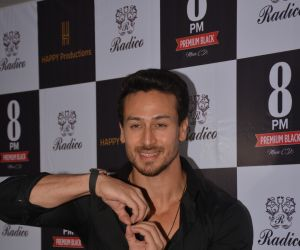 Tiger Shroff at the launch of Happy Productions new single