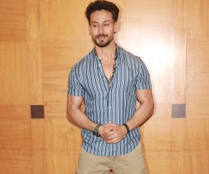Actor Tiger Shroff at the promotions of film Baaghi 3