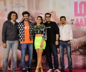 Crew Members in Trailer Launch Of Film Love Aaj Kal 2.
