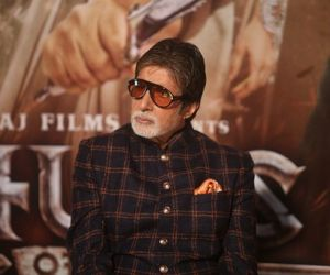 Amitabh Bachchan attend Trailer launch of film Thugs of Hindustan at Imax Wadala