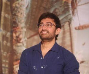 Trailer launch of film Thugs of Hindustan at Imax Wadala