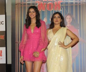 Trailer Launch Of Pati Patni Aur Woh With Ananya Panday and Bhumi Pednekar